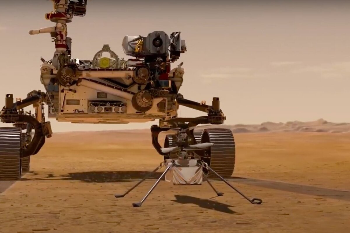 ВИДЕО   Первые дни Perseverance на Марсе