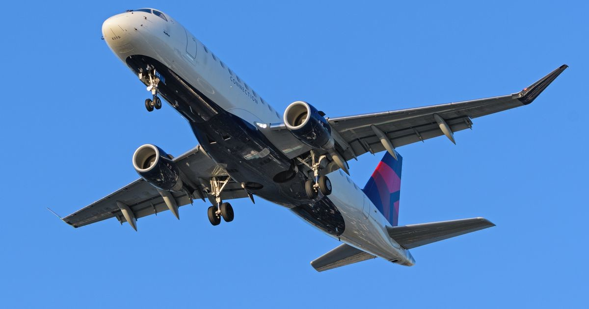 Снятый с рейса пассажир попытался залезть обратно в самолет и попал на видео