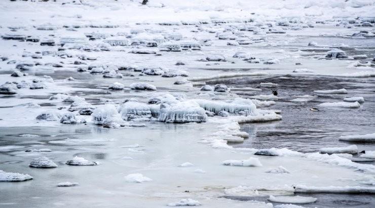 Управа Ласнамяэ: выход на лед озера Паэ запрещен!