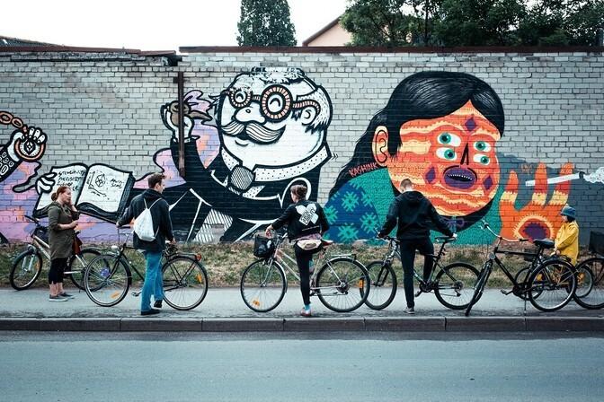 ФОТО: самые яркие работы за всю историю фестиваля уличного искусства Stencibility