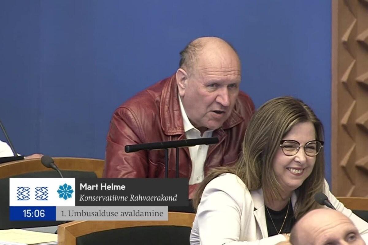 ВИДЕО | Март Хельме назвал премьера Каю Каллас человеком с биполярным расстройством