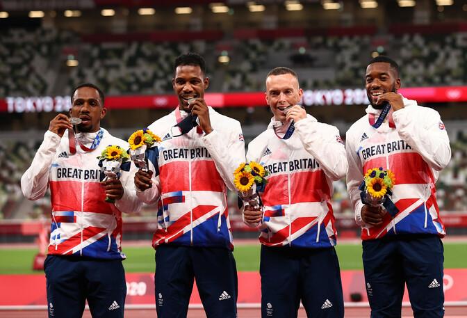 Тест на допинг британского спринтера, завоевавшего серебро в Токио, оказался положительным