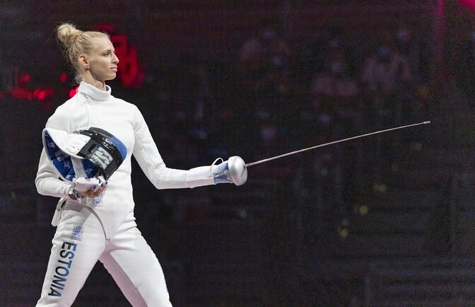 Первая олимпийская медаль Эстонии: Катрина Лехис завоевала бронзу