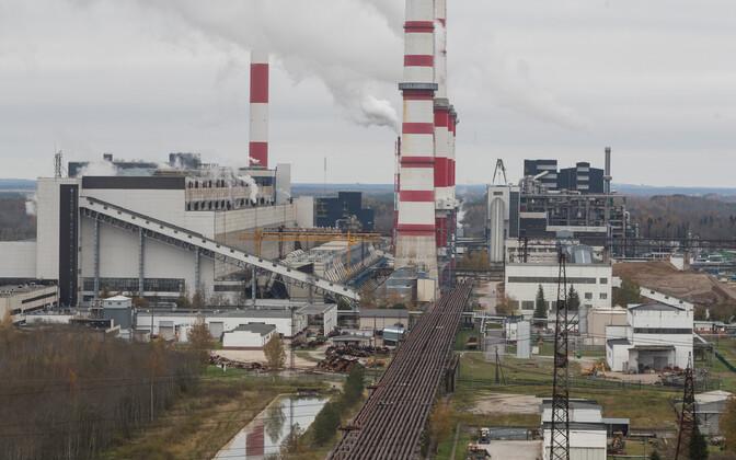 Нарвские электростанции расконсервировали и запустили всё оборудование по производству энергии