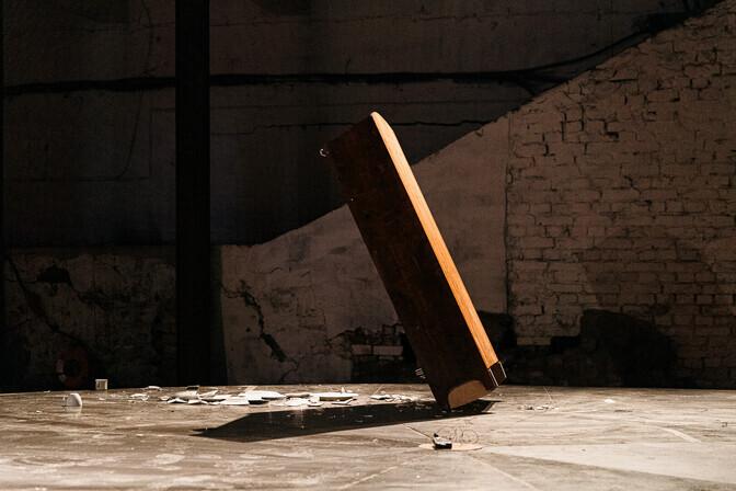 ФОТО: выставка Союза художников-постановщиков посвящена вращающейся сцене
