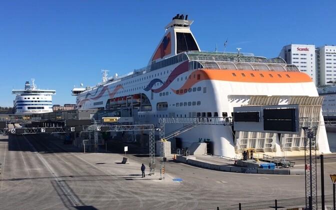 В Tallink занимают выжидательную позицию в вопросе возобновления круизов Таллинн-Стокгольм