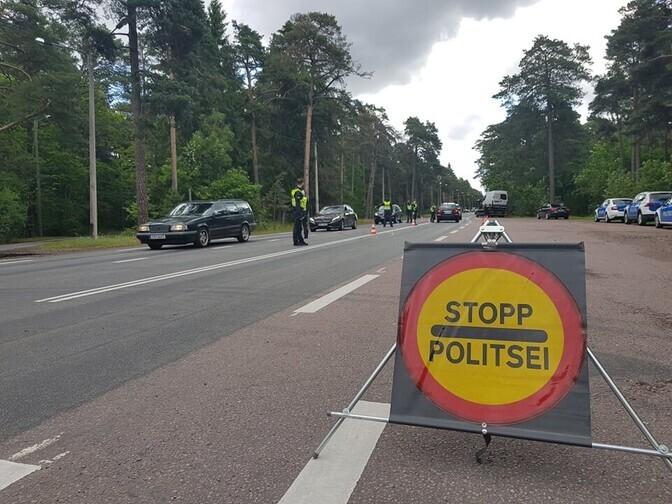 За минувшие сутки на дорогах Эстонии задержали 56 пьяных водителей