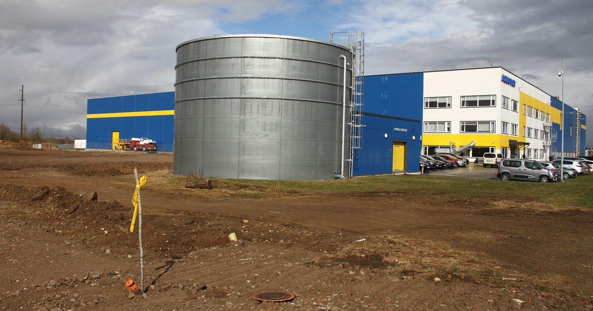 """""""Мегазаводу"""" Aquaphor в Нарве потребуются аэродром, училище робототехники и англоязычная средняя школа"""