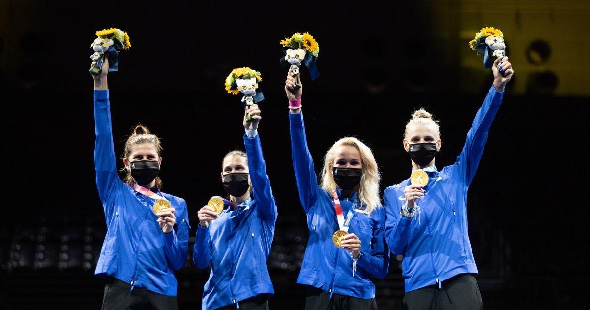 Олимпийские чемпионки прибудут в Таллинн завтра во второй половине дня