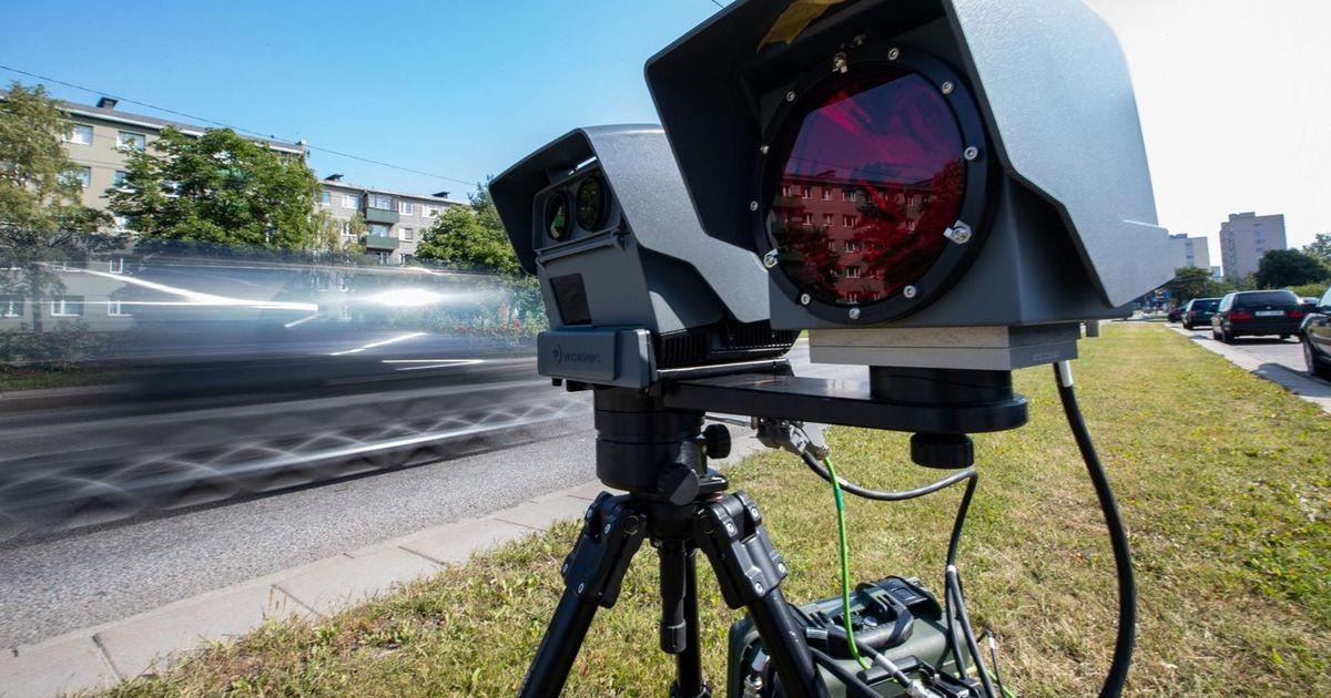 Мобильные камеры контроля скорости фиксируют вдвое больше нарушений, чем в прошлом году