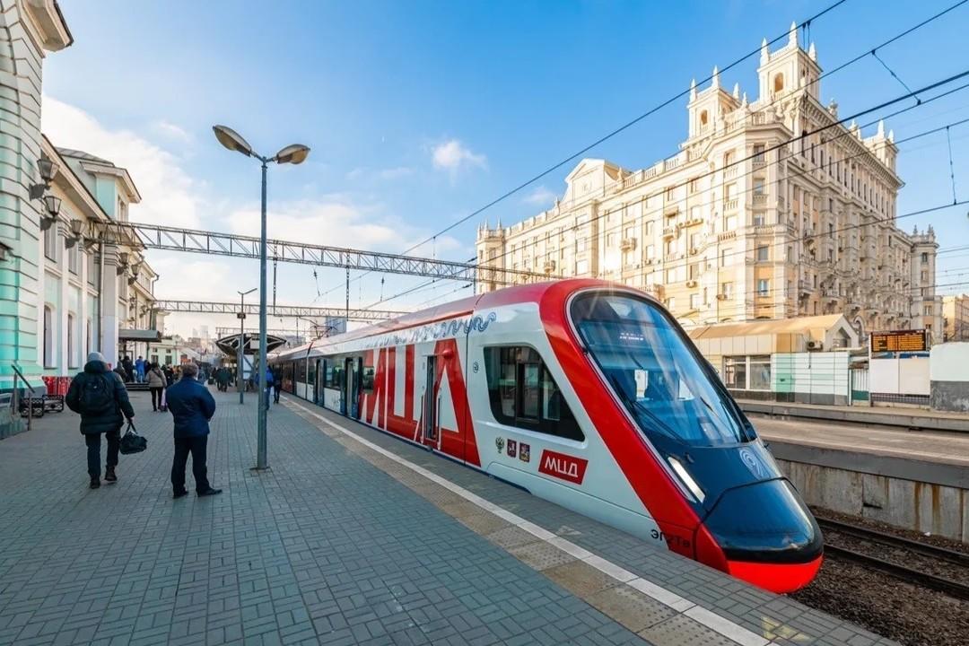 Москвичи cмогут отслеживать поезда Московских центральных диаметров в телефоне