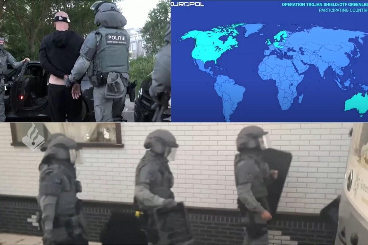 Европол и ФБР провели масштабную операцию в Эстонии и более чем в 100 других странах: изъято более 30 тонн наркотиков, задержаны более 800 человек