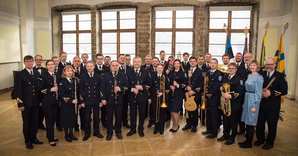 Духовой оркестр PPA станет Таллиннским полицейским оркестром