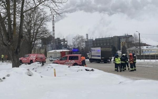 В ходе геодезических работ в Кохтла-Ярве был поврежден газопровод VKG
