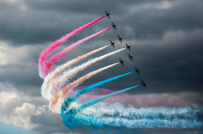 В среду над Таллиннским заливом состоится шоу британских ВВС