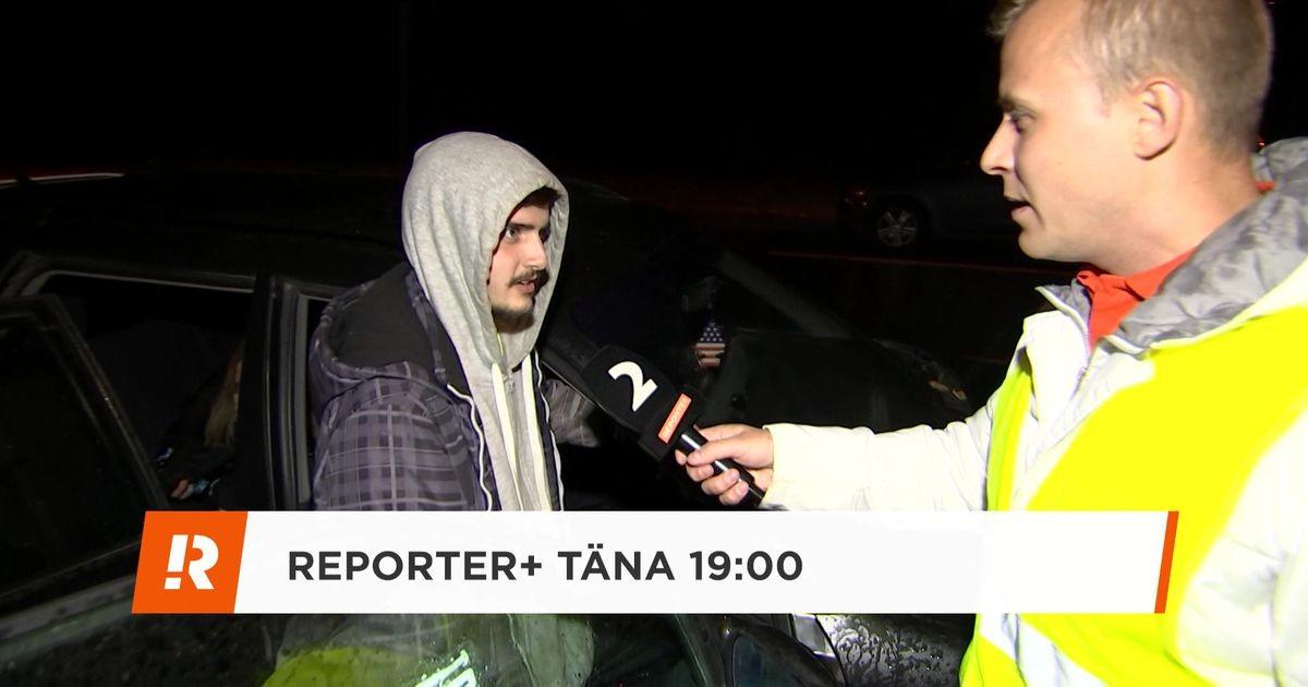 В Ласнамяэ полиция погналась за несовершеннолетним водителем, который оставил свою машину и друзей посреди дороги