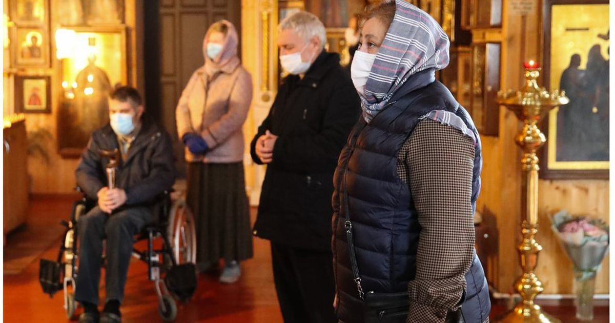 В России новый рекорд по числу Covid-19 - больше 15 тысяч в сутки