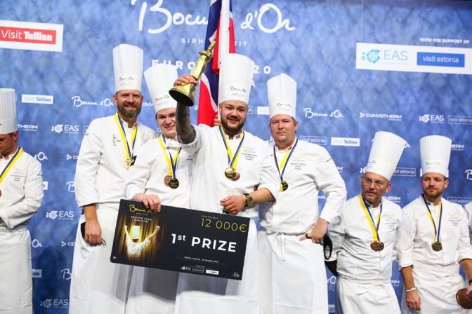 """Отборочный европейский тур """"Золотого Бокюза"""" выиграла Норвегия, в финал прошла и Эстония"""