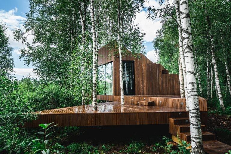Мечта интроверта: 9 домиков для отдыха в Эстонии посреди дикой природы