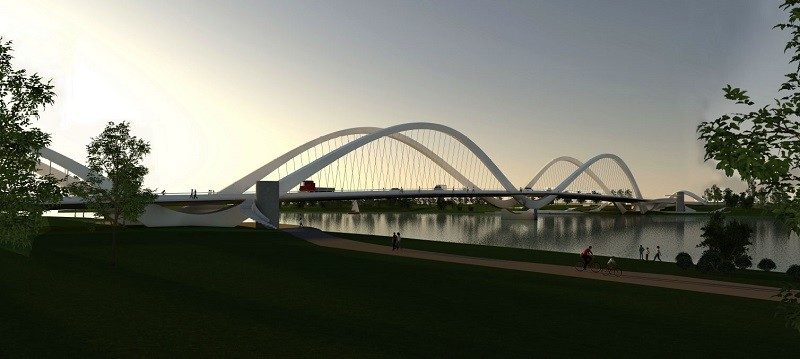 «Чудо-лебедь» — как будет выглядеть новый мост в центре Пярну