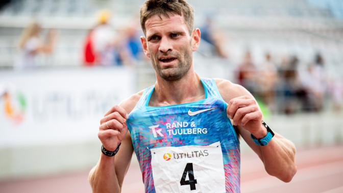 Тийдек Нурме установил рекорд Эстонии по полумарафону